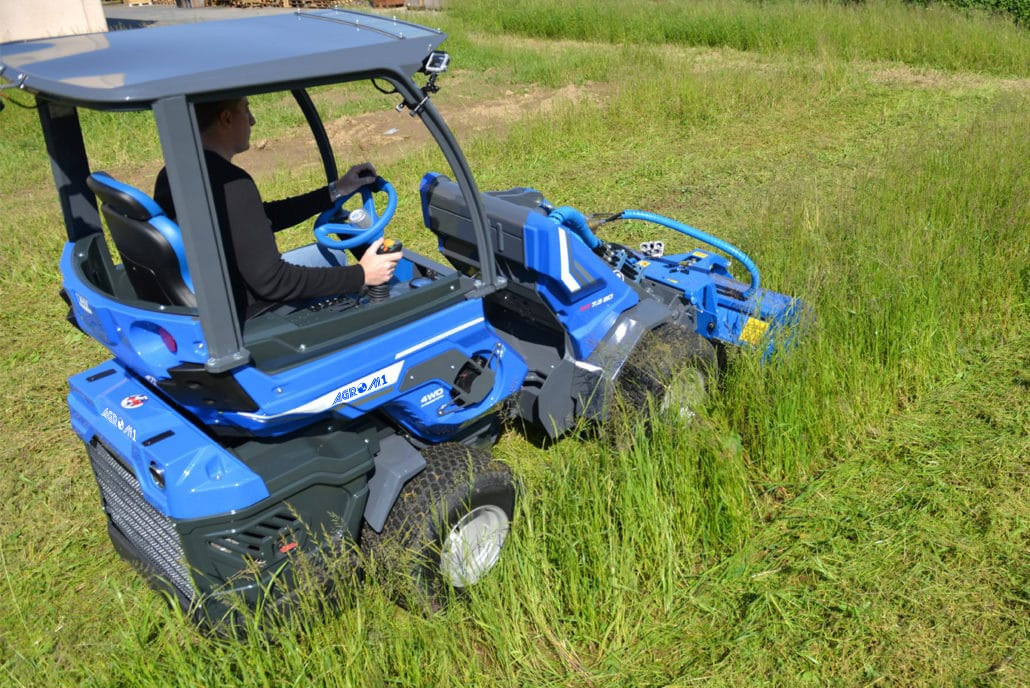 AgroM1 Mini Articulated Tractor Range